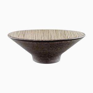Modern Glasierte Steingut Schale von Mari Simmulson für Upsala-Ekeby