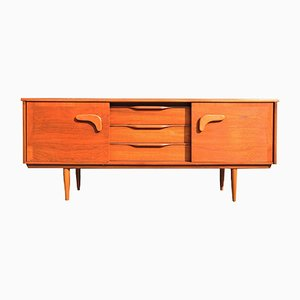 Mid-Century Sideboard with Boomerang Handles, 1960s
