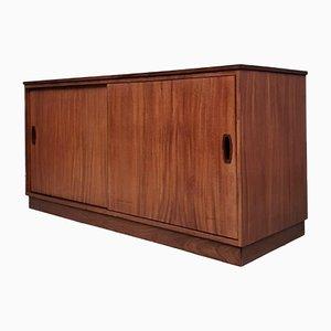 Large Mid-Century Media Sideboard Cabinet