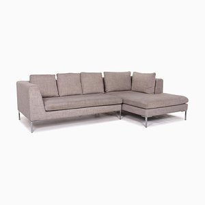 Grey Luca Fabric Corner Sofa from Who's Perfect