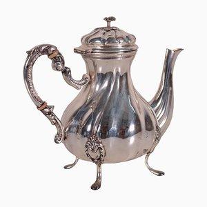 19th Century Italian Silver Teapot