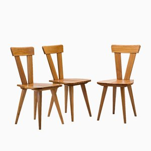 Zydel Chairs by Wincze & Szlekys, Set of 3