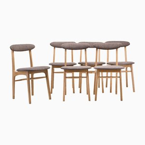 Type A-5908 Chairs, Set of 6
