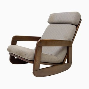 Mid-Century Czechoslovakian Rocking Chair, 1960s