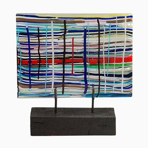 Piastra Glas Skulptur von Leonardo Cimolin