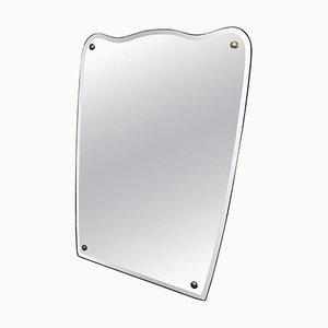 Specchio da parete Mid-Century moderno, Italia