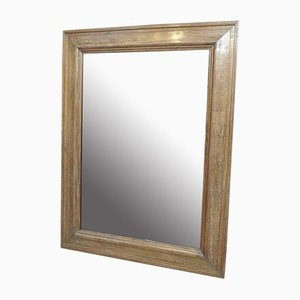 Large Oak Mirror, 1960s