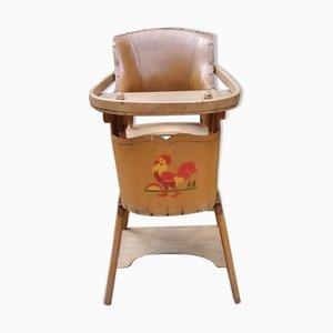 Chaise d'Enfant Modulable Haute, 1950s