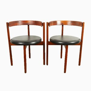 Vintage Danish Chairs by Hugo Frandsen for Spøttrup, 1960s, Set of 2