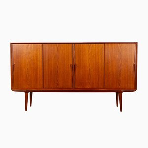 Vintage Danish Teak Credenza from Omann Jun, 1960s
