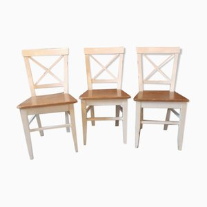 Campaign Chairs, 1980s, Set of 3