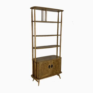 Mid-Century Windsor Giraffe Room Divider Shelf from Ercol