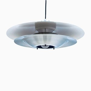 Scandinavian Metal Ceiling Lamp, 1960s