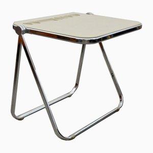 Platone Desk in Cream by Giancarlo Piretti for Castelli / Anonima Castelli, 1960s
