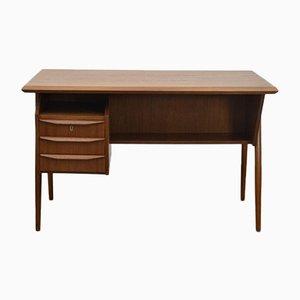 Mid-Century Teak Desk by Gunnar Nielsen Tibergaard, 1960s