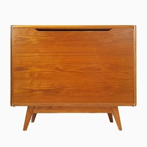 Mid-Century Ash Commode by B.Landsman for Interier Praha, 1960s
