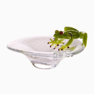 Glasschale mit Frosch von Vgnewtrend