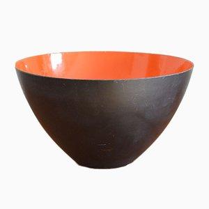 Enamelled Steel Bowl by Herbert Krenche for Torben Ørskov, 1950s