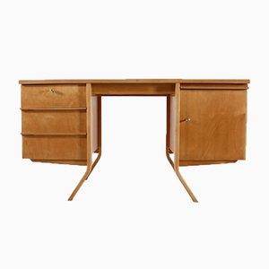 Schreibtisch aus Birkenholz von Cees Braakman für Pastoe, 1950er