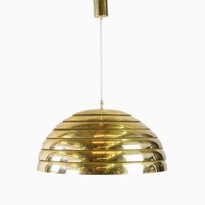 Vintage Messing Dome Hängelampe von Florian Schulz