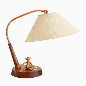 Teak Table Lamp from Temde, 1960s