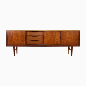 Scandinavian Sideboard with Sliding Doors