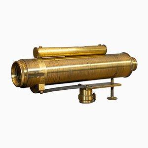 English Brass Handheld Surveyor's Instrument, 1930s