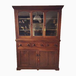 Georgian Oak Dresser or Housekeeper's Cupboard