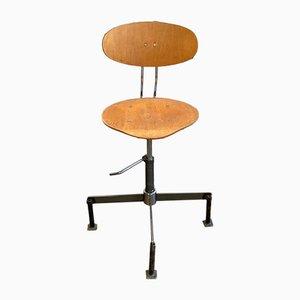 Vintage Industrial Workshop Chair, 1960s