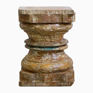 Antique Indian Wooden Pillar