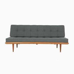 Sofá cama modelo FD417 de teca de Peter Hvidt & Orla Mølgaard-Nielsen para France & Søn / France & Daverkosen, años 50