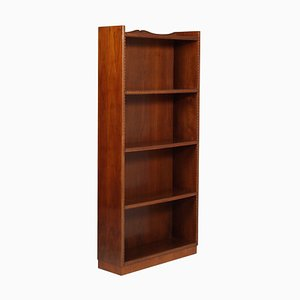 Mid-Century Modern Small Italian Bookshelf in the Style of Vittorio Dassi