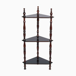 19th-Century Italian Ebonized Walnut Shelf