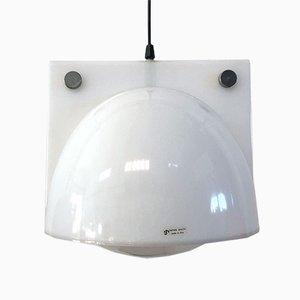 Lámpara de techo de Sergio Brazzoli & Emanno Lampa para Guzzini, años 70