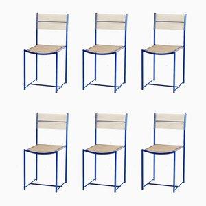 Spaghetti Side Chairs by Giandomenico Belotti for Alias, 1970s, Set of 6