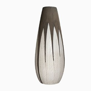 Mid-Century Paprika Floor Vase in Stoneware by Anna-Lisa Thomson for Upsala Ekeby, Sweden, 1950s