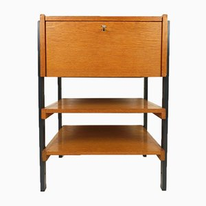 Small German Teak Chest of Drawers, 1960s