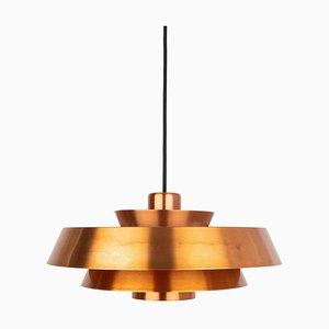 Lámpara de techo Nova danesa de Johannes Hammerborg para Fog & Mørup, años 60