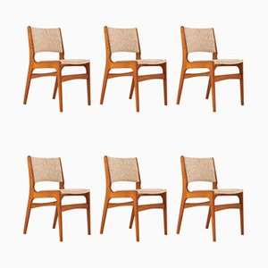 Teak Dining Chairs by Johannes Andersen, 1960s, Set of 6