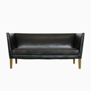 Canapé 180 Mid-Century en Cuir par Grete Jalk pour Johannes Hansen, 1960s
