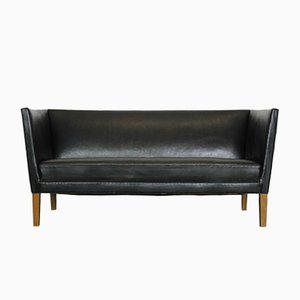 Mid-Century Leather 180 Sofa by Grete Jalk for Johannes Hansen, 1960s