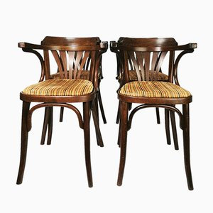 Dining Chairs, Romania, 1960s, Set of 4