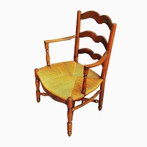 Sessel aus Stroh, 1920er