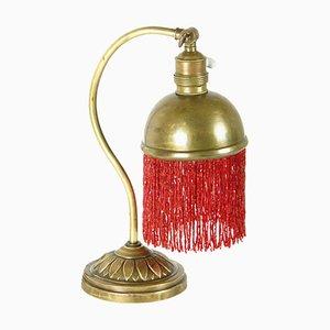 Lampe mit Perlen, 1900er