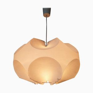 Mid-Century Pendant Lamp in the Style of Le Klint, Denmark, 1970s