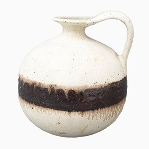 Italienischer Dekorativer Keramik Krug von Bruno Gambone, 1970er