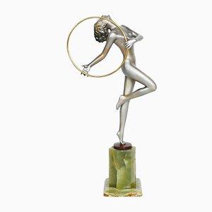 Bailarina en forma de aro de Josef Lorenzl, años 30