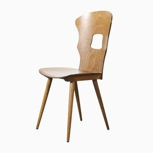 French Bentwood Gentiane Dining Chair from Baumann, 1950s