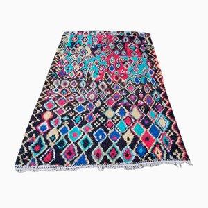Großer Bunter Vintage Azilal Teppich