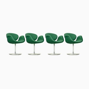Little Tulip Dining Chairs by Pierre Paulin for Artifort, 1990s, Set of 4